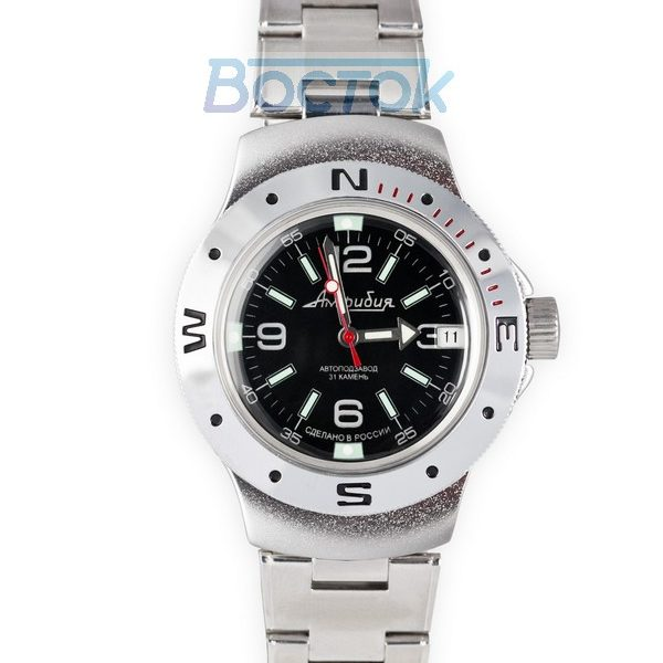 Russian automatic watch VOSTOK AMPHIBIAN 2416 / 060640