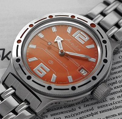 Russian automatic watch VOSTOK AMPHIBIAN 2416 / 420368