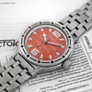 Russian automatic watch VOSTOK AMPHIBIAN 2416 / 420368