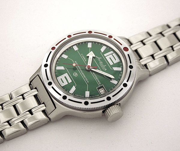 Russian automatic watch VOSTOK AMPHIBIAN 2416 / 420369