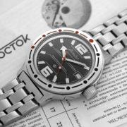Russian automatic watch VOSTOK AMPHIBIAN 2416 / 420370