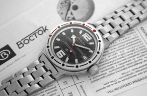 Russian automatic watch VOSTOK AMPHIBIAN 2416 / 420370
