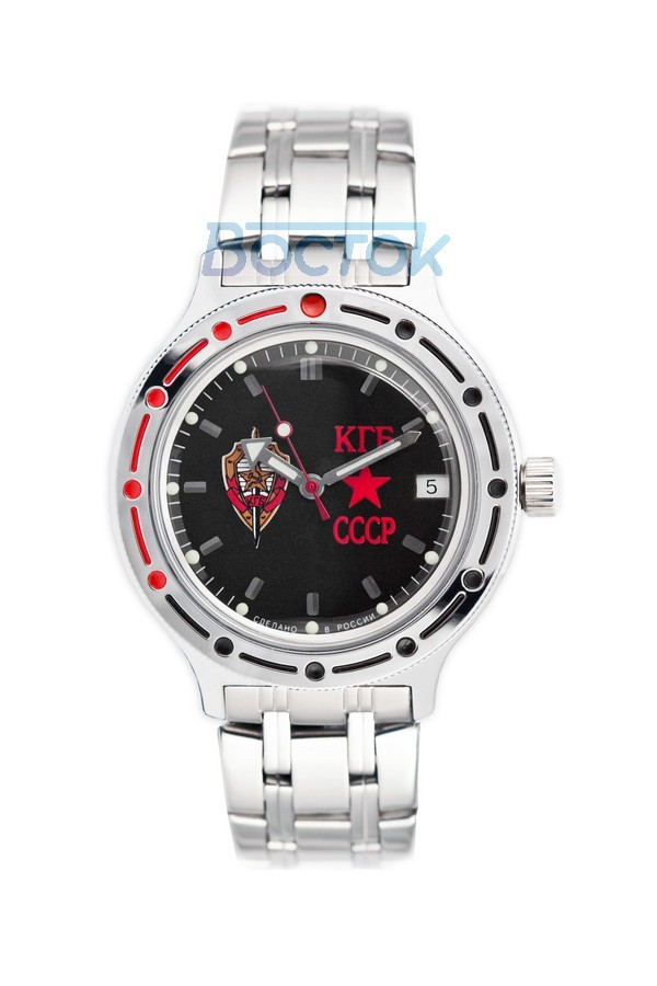 Russian automatic watch VOSTOK AMPHIBIAN KGB 2416 / 420457