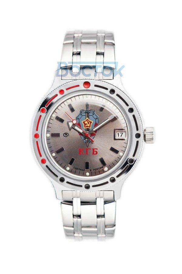 Russian automatic watch VOSTOK AMPHIBIAN KGB 2416 / 420892