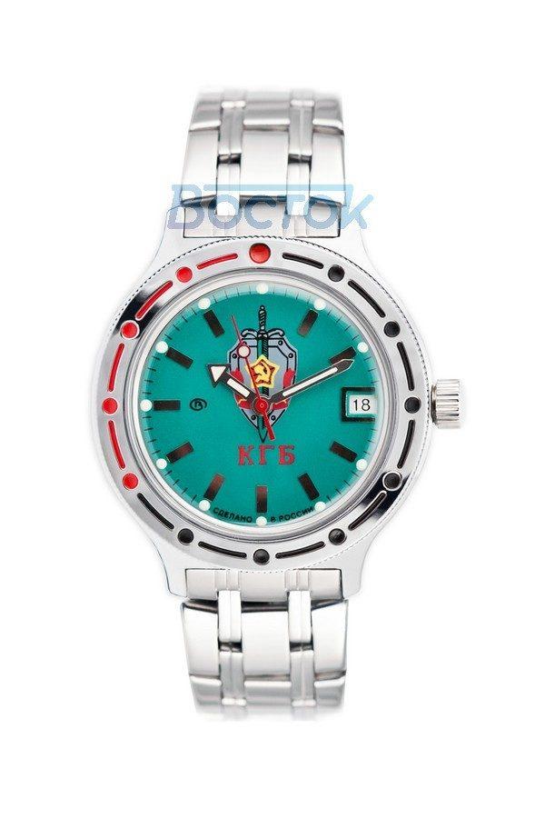Russian automatic watch VOSTOK AMPHIBIAN KGB 2416 / 420945