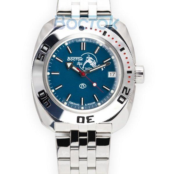 Russian automatic watch VOSTOK AMPHIBIAN 2416 / 710059