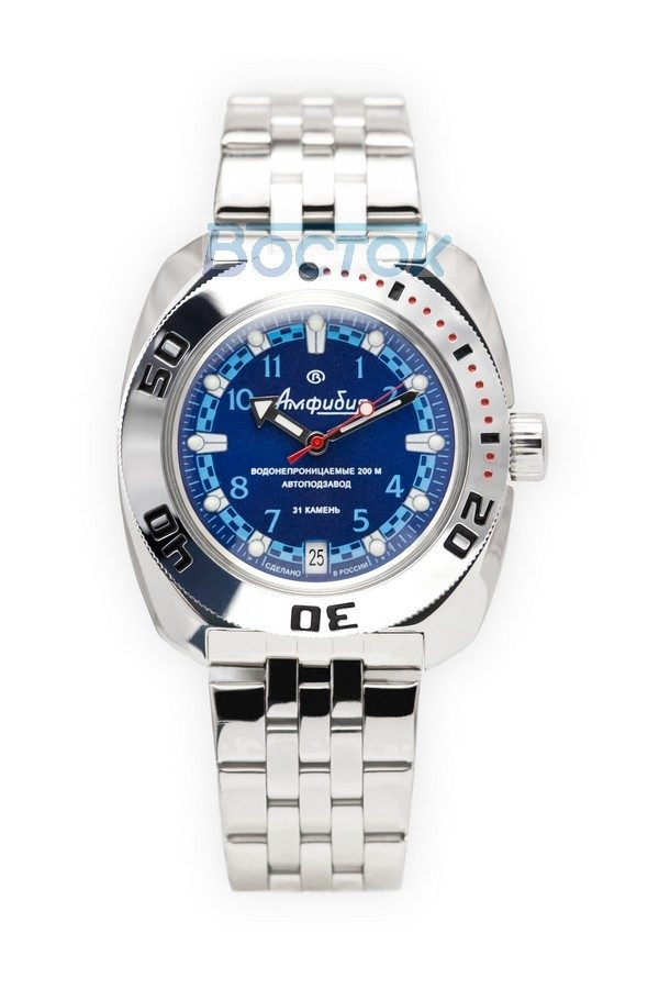 Russian automatic watch VOSTOK AMPHIBIAN 2416 / 710440