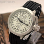 Russian 24-Hours Watch Arctic Expedition Camp Barneo North Pole 52 mm