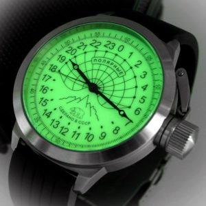 Russian 24 hour watch - Arctic Camp Barneo 52 mm
