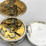Russian Imperial Paul Buhre Silver Pocket Watch
