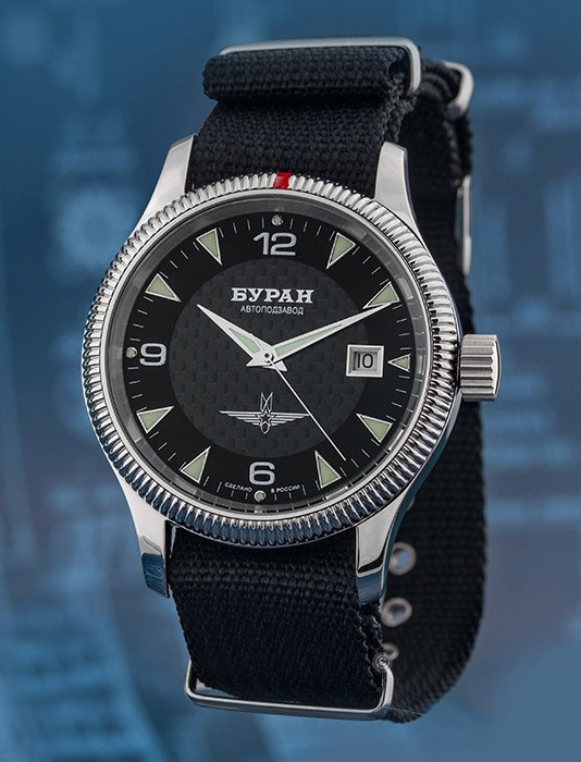 BURAN 2824/6503720 - Russian Automatic Watch