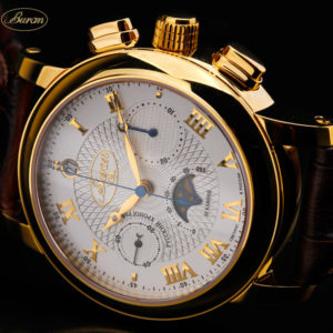 poljot buran watch moonphase