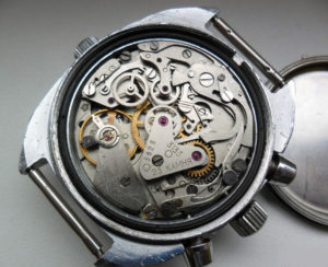 Russian OKEAH Navy Chronograph Watch 1990s