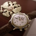 Russian chronograph watch Poljot PRESIDENT YELTSIN