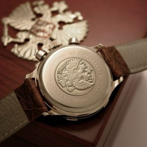 Russian chronograph watch Poljot PRESIDENT YELTSIN