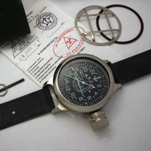"RUSSIAN MILITARY DIVER 24-HOUR WATCH ""WARSHIP"""