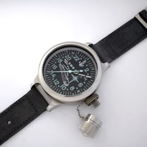 "RUSSIAN MILITARY DIVER 24-HOUR WATCH ""SUBMARINE"""