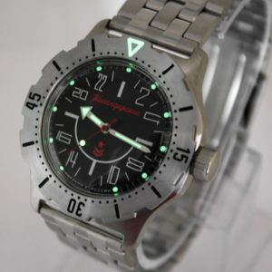 Vostok Komandirskie K-35 Russian Automatic 24-Hours Watch 2431.01 / 350623
