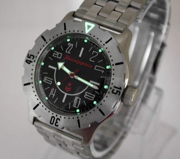 Vostok Komandirskie K-35 Russian Automatic 24-Hours Watch 2431.01 / 350623