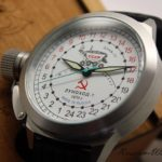 Russian 24-hours mechanical self-winding watch Lunokhod-1 45 mm