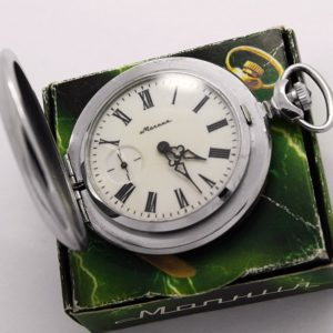 Russian pocket watch Molnija Joseph Stalin WWII