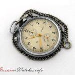 Molnija 3017 Strela, Military Chronograph, USSR 1960s