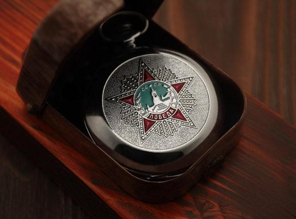 Russian pocket watch Molnija Victory WWII 1941-1945 USSR