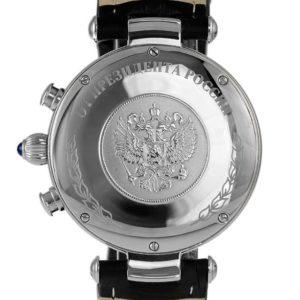 MOSCOW CLASSIC President Putin Poljot 31681 Russian Chronograph Watch Swarovski