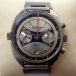 Russian Vintage Poljot OKEAH Military Navy Chronograph Watch USSR