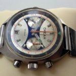 Russian Vintage Poljot OKEAH Military Navy Chronograph Watch USSR