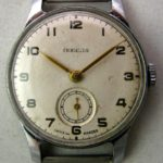 Soviet mechanical watch Pobeda 1MWF Kirova USSR 1951