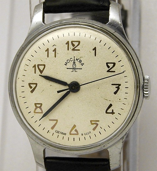Soviet mechanical watch Pobeda Moscow Kirova 1955