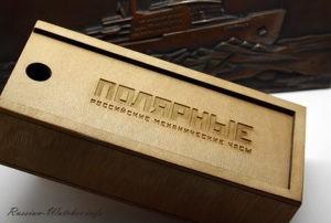 Polar 24h watches - wooden box