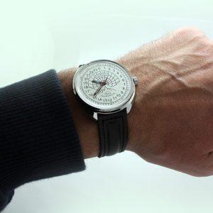 Russian 24 hour watch, Raketa Polar Bear white