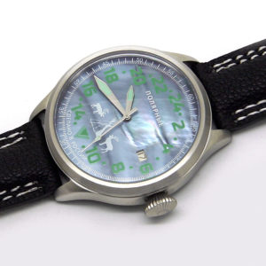 Russian 24-hours watch Polar Northern Lights 45 mm