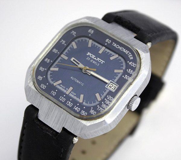 Russian POLJOT 2616.2H mechanical automatic watch USSR 1976