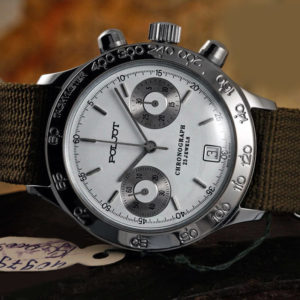 Russian Mechanical Chronograph Watch POLJOT 3133 / 6851096