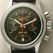 Russian chronograph Poljot 3133 MiG-29