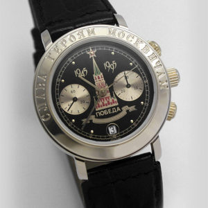 Russian mechanical chronograph watch POLJOT 3133