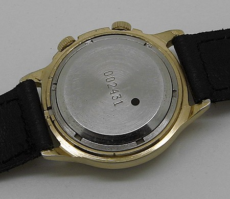 Russian mechanical POLJOT 2612 signal-type alarm watch 1993