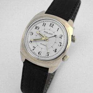Russian mechanical POLJOT 2612 signal-type alarm watch USSR