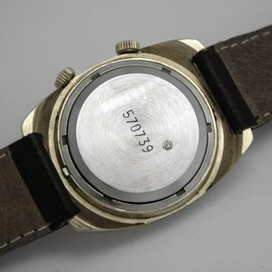 Russian mechanical POLJOT 2612 signal-type alarm watch USSR