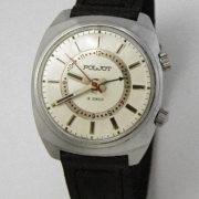 Russian mechanical POLJOT 2612 signal-type alarm watch USSR 1976