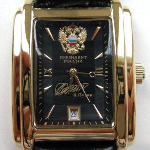 Russian President PUTIN Poljot mechanical self-winding watch Black