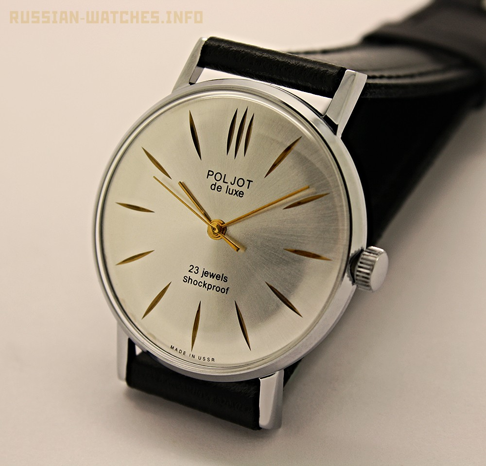 Russian vintage watch poljot 2209 de luxe all russian watches for Foljot watches
