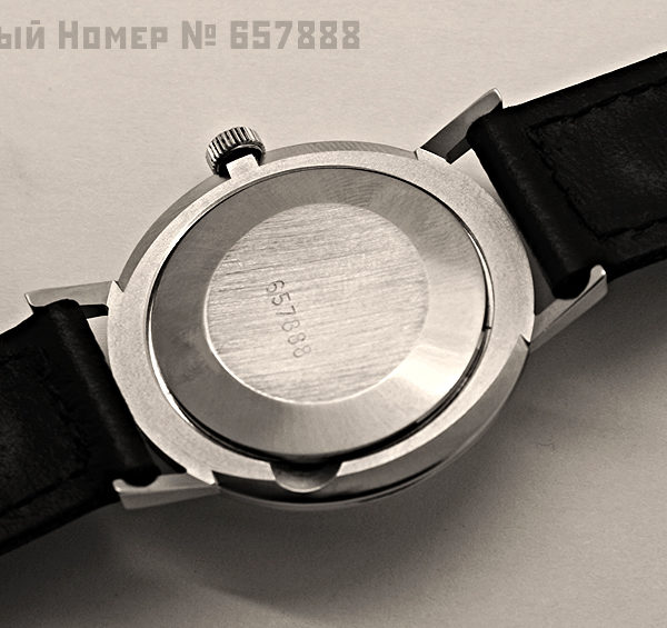 Russian Vintage Watch Poljot 2209 De Luxe NOS SN: 657888