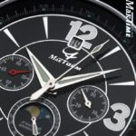 Russian Chronograph Watch Maktime 31679 Poljot Moonphase