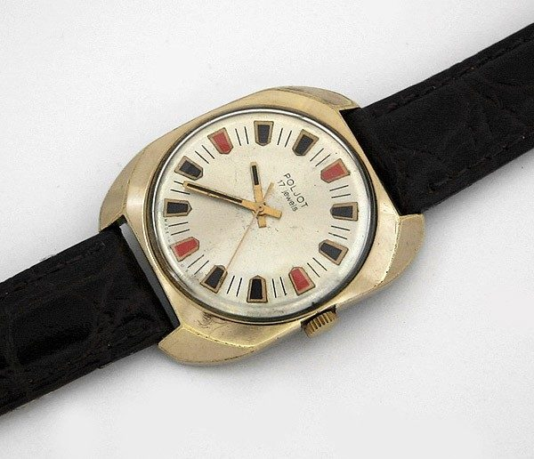 Soviet mechanical watch Poljot USSR 1976