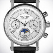 Russian Chronograph Watch Poljot 31679 Lunar Moonphase