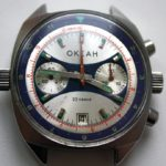 Russian Vintage Poljot OKEAH Sturmanskie Military Navy Chronograph Watch